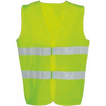 Kamizelka odblaskowa dla dorosłych z CE - żółta