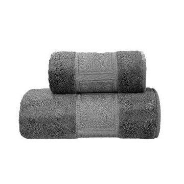 Eco Bamboo Ręcznik Popiel