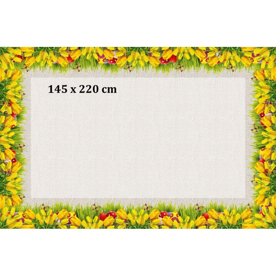 TULIPANY ŻÓŁTE 110X150 LUB 145X220