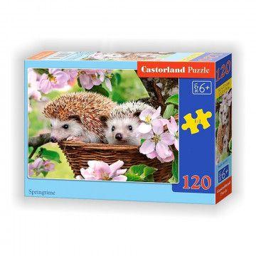 Jeże - puzzle 120 elementów