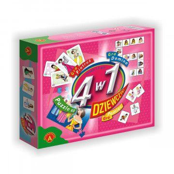 4w1- Dziewczyny zestaw gier