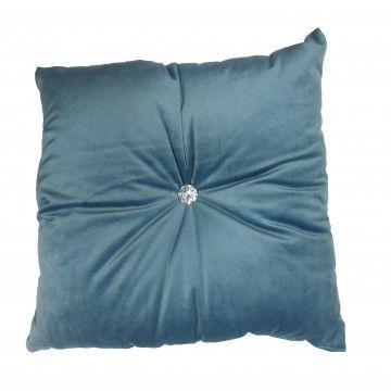 Poduszka Kryształ Niebieski