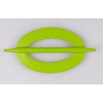 Klamerka zielona