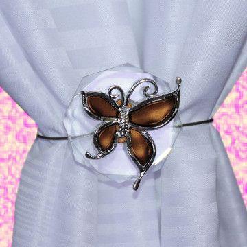 Ozdoba Motyl brązowy